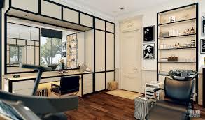 Modern Black And White Dressing Room ...