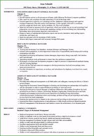 General Resume Samples Restaurant Resume Sample 46 Suggestions For 2019