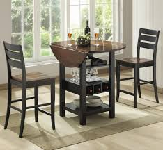 dinette sets for small spaces. Dining Room Furniture Small Dinette Sets Kmart Table Pub And Drop Gorgeous Tables Chairs For Spaces