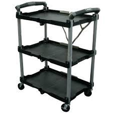 Folding Service Carts Aureadent Club