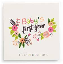 Lucy Darling Babys First Year Memory Book A Simple Book Of Firsts Little Artist Baby Journal Baby Album