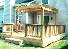 small outdoor deck ideas for areas backyard decks patios designs pictures best on d