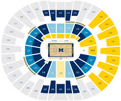 65 Competent Crisler Arena Seating Chart Rows