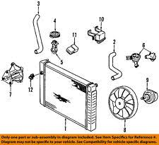 gm car truck cooling system hoses clamps for chevrolet gm oem radiator upper hose 22553213 fits chevrolet cavalier