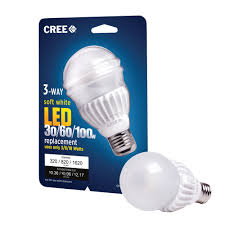 3 Way Incandescent Light Bulbs Cree Reinvents The Three Way Led Bulb Business Wire