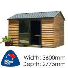 cedar urban timber garden shed garden