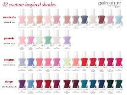Essie Gel Colors Chart Essie Gel Couture Nail Polish Discontinued Natural Braid