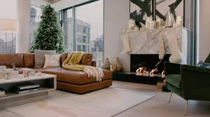 west elm Holiday House Fireplace - YouTube