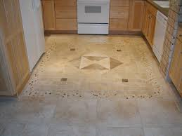 Stone Floor Tiles Kitchen Ceramic Tile Floor Ideas Metal Cushioned Bar Stool Beige Stone