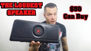 loud bluetooth speakers. loudest bluetooth speaker | best portable for $50 2016! bass heavy - youtube loud speakers e