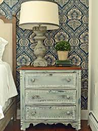 give plain nightstands rustic charm