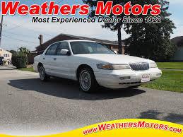 1996 mercury grand marquis ls sedan