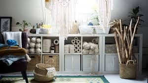 spare room ideas such as a craft room with storage for wool and materials