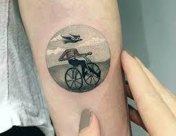 Miniature Tattoo Scenes By Eva Krbdk Scene360