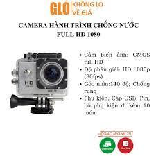 Camera Hành Trình Xe Máy Giá Rẻ Ngoài Trời Chống Nước Quay Phim Độ Nét Cao  A9 SJ4000 chính hãng 260,000đ