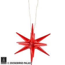 Christbaumschmuck Weihnachtsstern Rot 7 Cm Von Albin Preissler