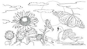 Preschool Spring Coloring Pages Free Coloring Pages For Preschoolers