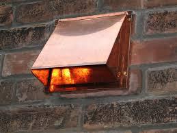 6 inch copper range hood wall vent
