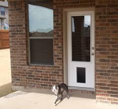 exterior door with dog door. image of: design-exterior-door-with-built-in-pet exterior door with dog