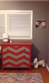 chevron painted furniture. Cool Refreshing Chevron Painted Furniture D