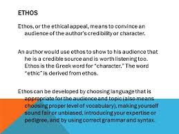 ethos pathos logos and the rhetorical question ppt video ethos