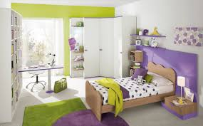 green and purple bedroom ideas 2 with modern kid s design