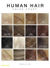 Illumina Hair Color Chart