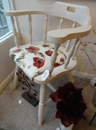 how to do upholstery on a chair unique captain s chair painted using autentico cocos vintage