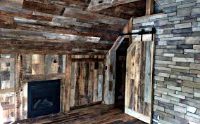 reclaimed wood wall flooring mantels table diy kit jimmy barnwood with wood accent wall