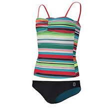 Amazon Com Ripzone Girls Striped Tankini 2 Piece With