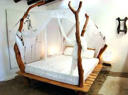 Mirrored Canopy Bed Bedroom Design Gorgeous Ideas With White And ...