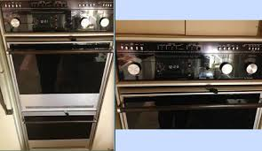 vintage thermador double oven 390