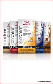 wella nutmeg 7wv hair color 81110 wella color charm professional haircolor salon permanent gel 2 oz