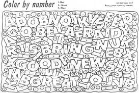 Color By Number Coloring Pages Print Out Jokingartcom Color By