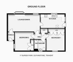 cool two bedroom floor plans idea design ideas plan house elegant simple pdf bungalow cottage three story small homes flat under layout bhk home guest