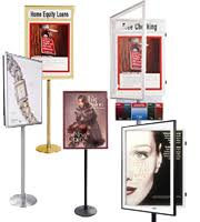 Multiple Poster Display Stands Poster Stands Sign Stands OutdoorIndoor Message and Directory 63