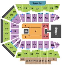 Bmo Harris Bank Center Tickets In Rockford Illinois Seating
