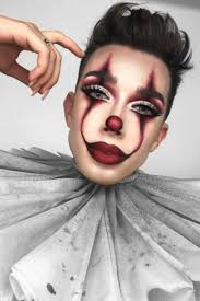 Charles james, fembois, androgynous fashion, glitz and glam, kendall jenner, makeup looks beverly luxe on instagram: James Charles Does It Pennywise Makeup Tutorial And Gets Dragged Teen Vogue