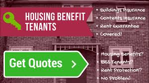 compare dss insurance for tenants on benefits