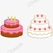 Cartoon Vector Birthday Cake Image Png Clip Art And Vector Ai