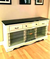 dog crate coffee table diy kennel crafty dogs houses double dog crate