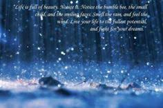 Beautiful Images Of Rain With Quotes