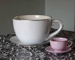 tea cup planter makeover