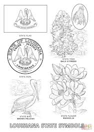 Small Picture Louisiana State Symbols coloring page Free Printable Coloring Pages