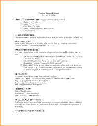 Kindergarten Teaching Jobs Resume Job For Teacher Photo Examples