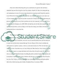 Example Philosophy Essay My Personal Philosophy Of Aging Essay Example Topics And