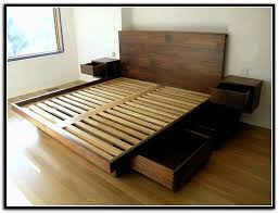 King Storage Bed Plans King Storage Bed Plans G Nongzico