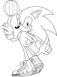 Small Picture Sonic the Hedgehog Coloring Pages