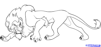 Free How To Draw A Lion Download Clip Art On With Simba Coloring