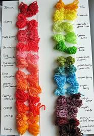 Kool Aid Yarn Color Chart Kool Aid Dye Kool Aid Hair